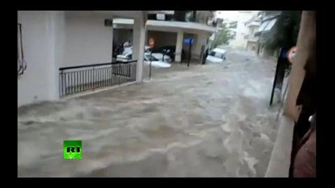 그리스 아테네 대홍수 2014. 10. 24.