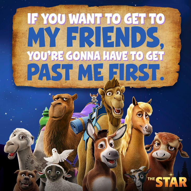 Experience the greatest story ever told by friends who become heroes. #TheStarMovie