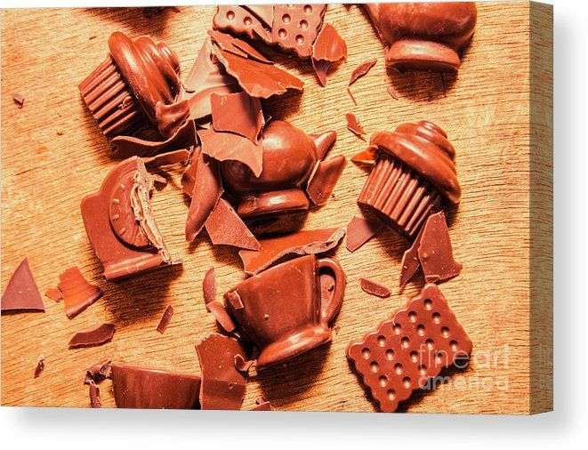 Chocolate Canvas Print featuring the photograph Death By Chocolate by Jorgo Photography - Wall Art Gallery