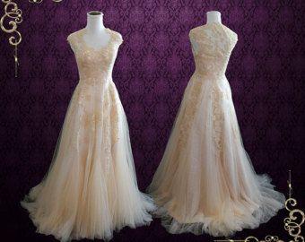 CM1031 Powder Blue Wedding Gown Reception Dress by ieie on Etsy