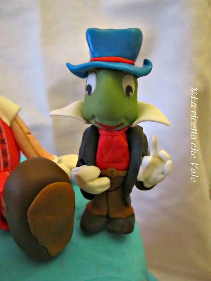 Pinocchio cake - Grillo parlante