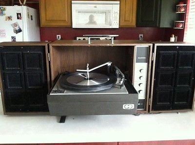 1960 S Sears Silvertone Record Player Stereo Console Audio Pinterest