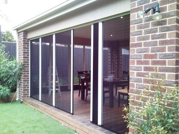 retractable fly screens can be installed on most windows and virtually all doors