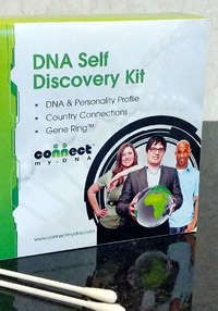 DNA Self-Discovery Kit from ConnectMyDNA: ConnectMyDNA