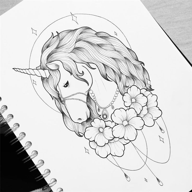 """Mi piace"": 187, commenti: 5 - Dora (@doratattoos) su Instagram: ""Unicorn ✨"""