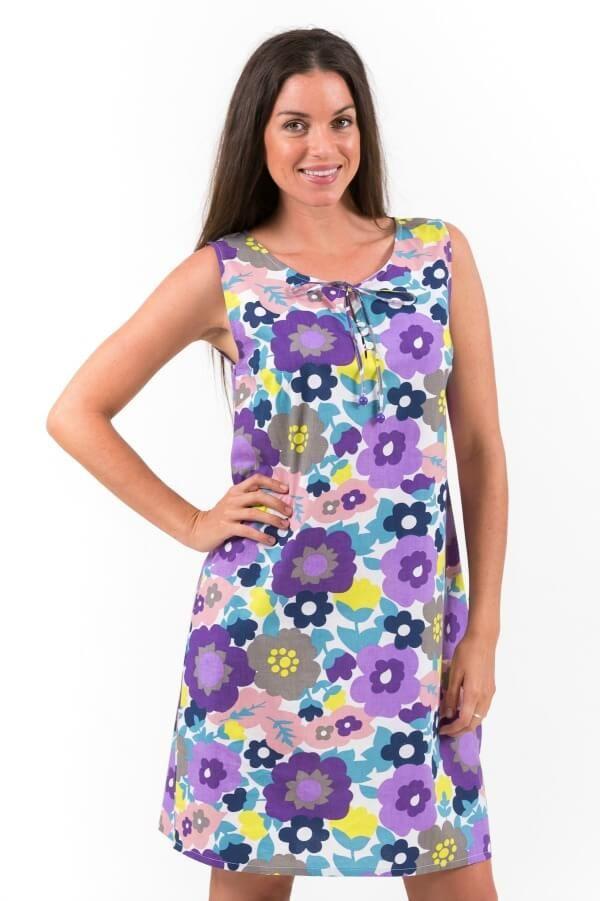 Cool Cotton Shift Dress