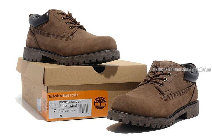 Timberland Men's Waterproof Brown Chukka Oxford Shoes Online $ 76.00