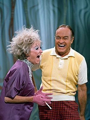 "PHYLLIS DILLER and BOB HOPE ""THANKS FOR THE MEMORIES"" <3 THEM."