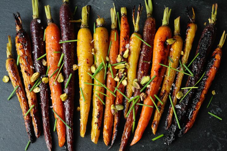 Side Dish | Maple Dijon Roasted Carrots