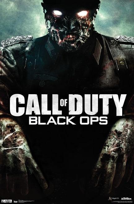 COD Black Ops - Zombie Poster hits retail floors soon!