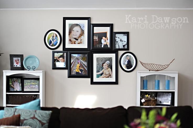 Large wall decor idea