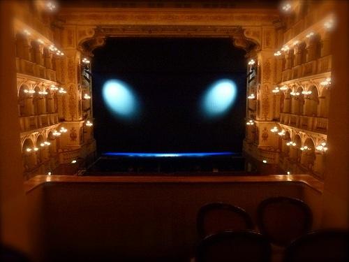 Alien in the theatre