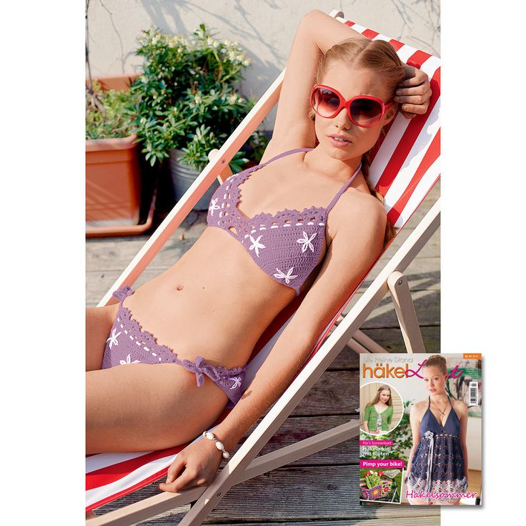 Modell 429/5, Bikini aus Cotonara von Junghans-Wolle « Damenmodelle « Häkelmodelle « Stricken & Häkeln - Häkelmodelle für Damen im Junghans-Wolle Creativ-Shop im Junghans-Wolle Creativ-Shop kaufen