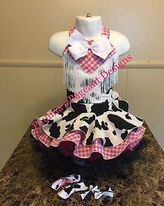 National Pageant Western Casual Wear Dress 18months-3t. OOC    eBay