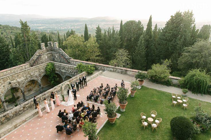 #ceremony #wedding #love #couple #decor #outdoors #trees #location #bride #groom #mangostudios
