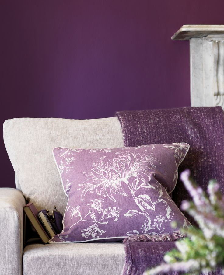The antique blossom Cushion is a fine addition to any home. Complementing your room, this purple cushion is a delightful focal point, ensuring excellent styling.