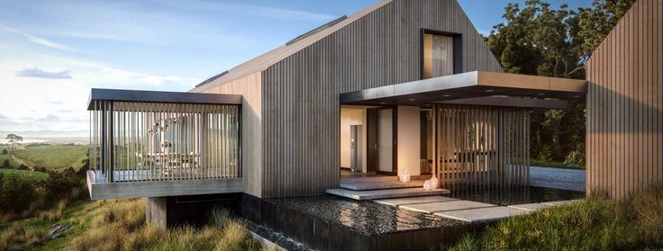 Contemporary Barn House » Archipro