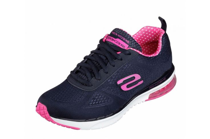 Skechers Skech Air Infinity Navy Pink Women's Trainers