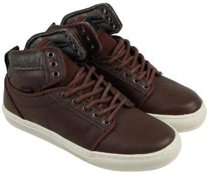Vans Alomar Chestnut Turtledove Mens High Top Sneakers