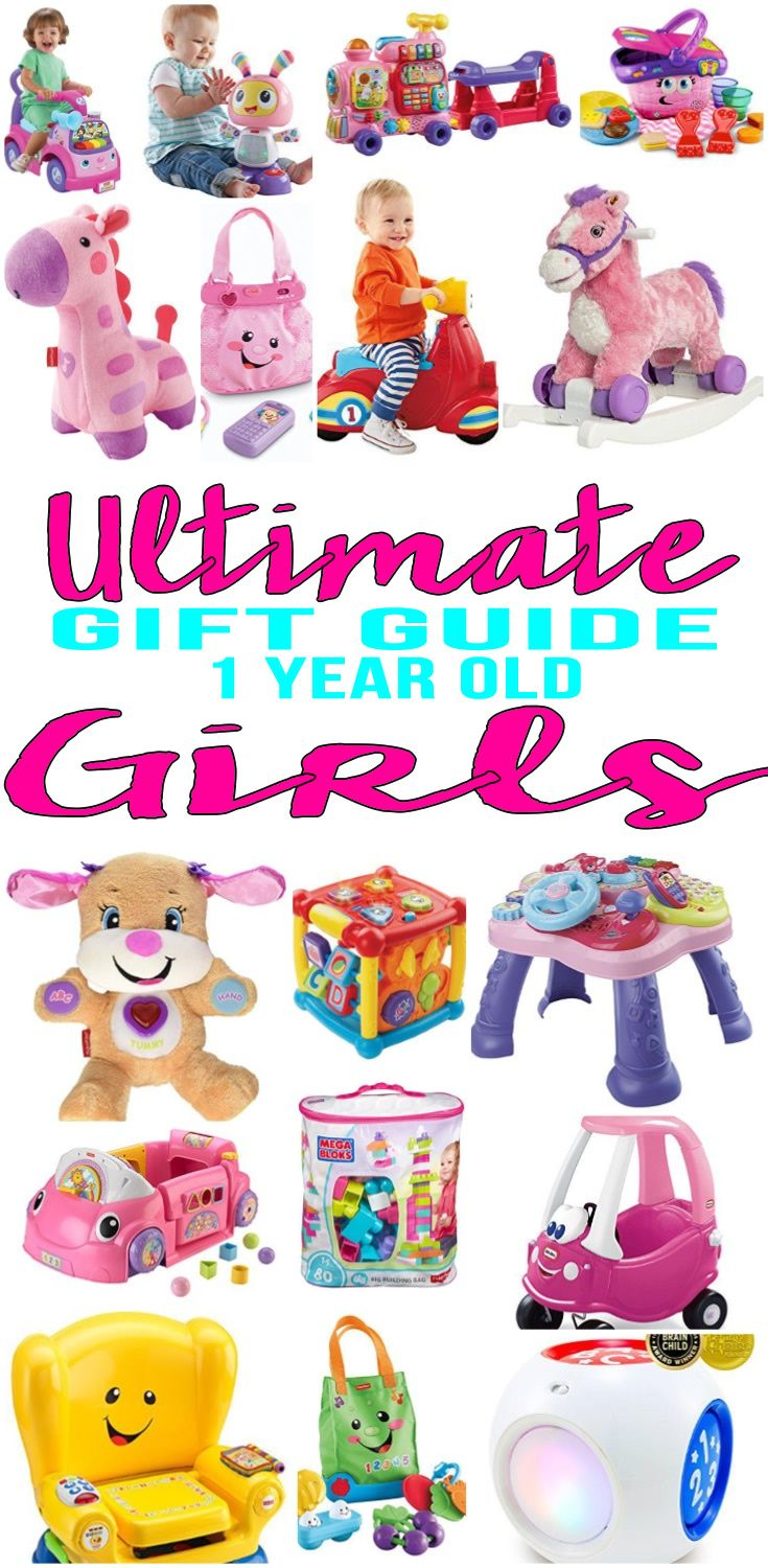 Best Gifts for 1 Year Old Girls Gift Guides Pinterest