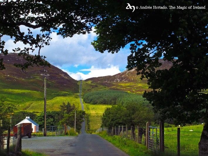 Mamore gap, Inishowen peninsula, Co.Donegal