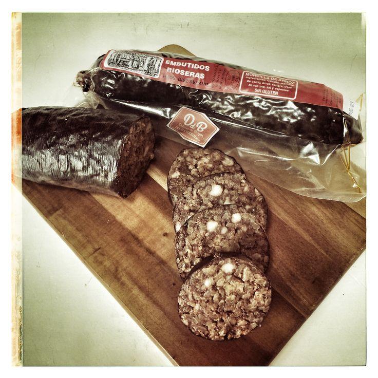 Hace unos pinchos de Morcilla... de Burgos y artesanal, claro!!! ...en DeliciasBurgos