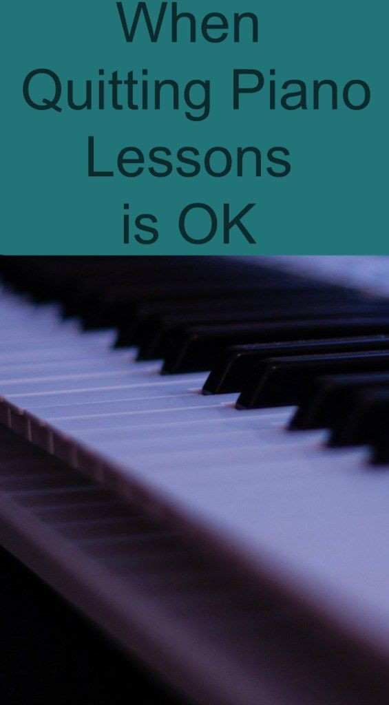If your child shows no interest in piano lessons, they should quit. Encourage your child to practice piano if they have the desire or consider online piano lessons for kids.