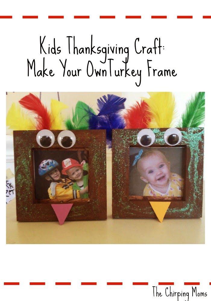 Fun Thanksgiving Craft for Kids : The Chirping Moms