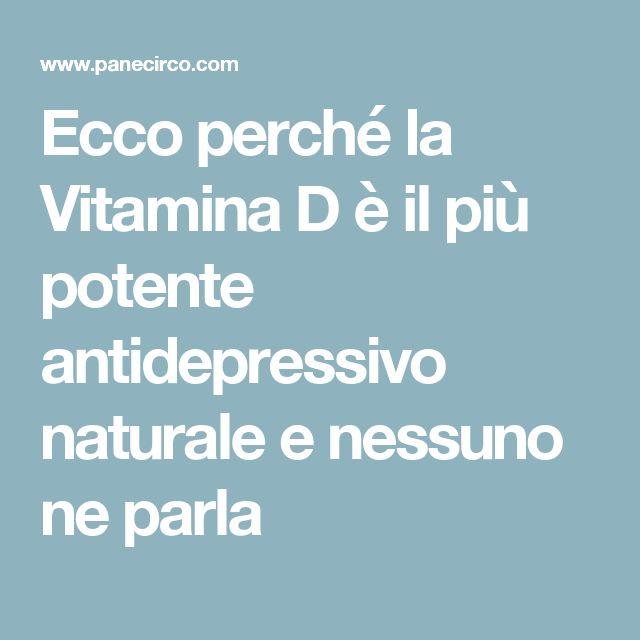 Ecco perché la Vitamina D è il più potente antidepressivo naturale e nessuno ne parla