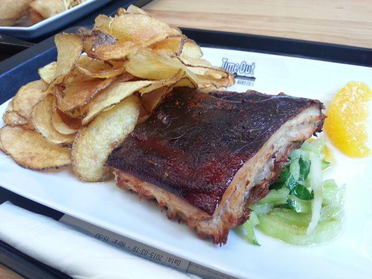 Suckling Pork with French Fries @ Mercado da Ribeira