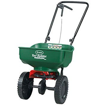 scotts turf builder edgeguard mini broadcast spreader settings