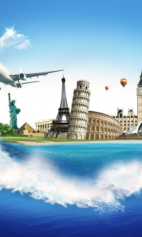 traveling the world wallpaper wwwimgkidcom the image