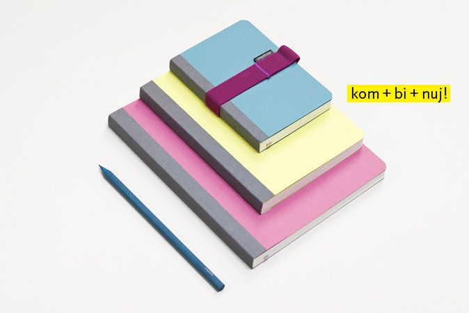 Wide range of original notebooks, notepads, wrapping papers, pencil cases, book covers, and other products that are manufactured in the Czech Republic from environmentally friendly materials.