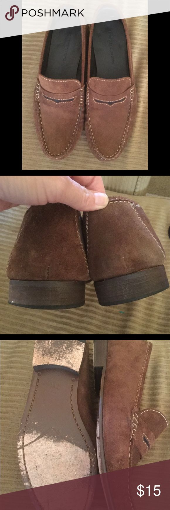 Men's suede loafer Men's brown suede loafer size 10.5. Excellent condition. michael shannon Shoes Loafers & Slip-Ons