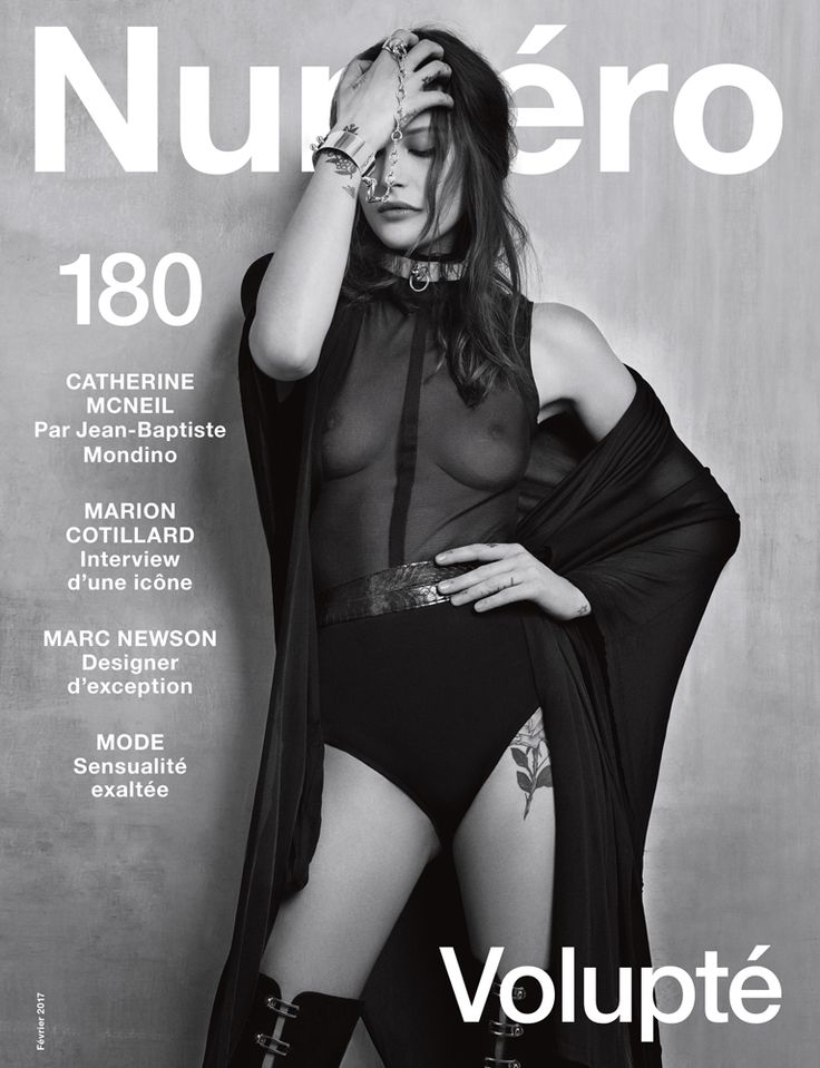Catherine McNeil by Jean-Baptiste Mondino for Numero February 2017