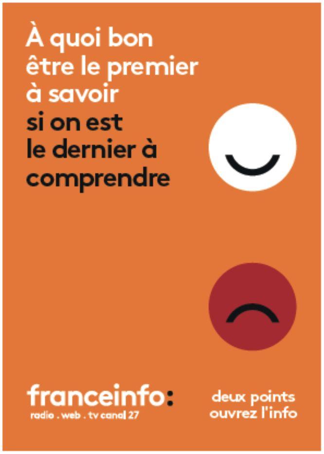 FranceInfo, campagne septembre 2016. Agence www.movement.paris