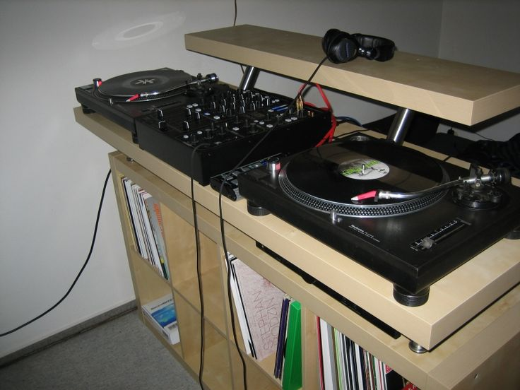How To: Create a Professional DJ Booth from IKEA Parts. | DJ TechTools