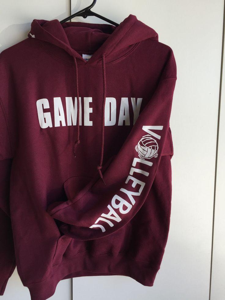 Game Day Hooded Sweatshirts