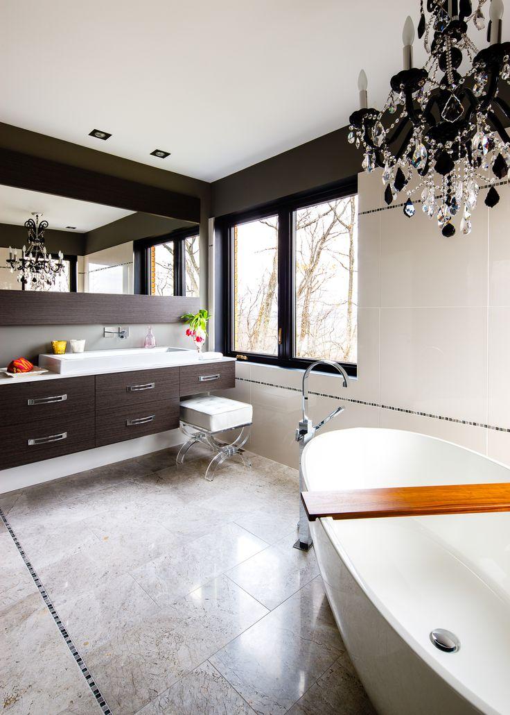 46 best salles de bain images on pinterest wet rooms for Vanite salle de bain