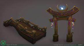 ArtStation - Legion: Night Elf Druid Props, Ashleigh Warner