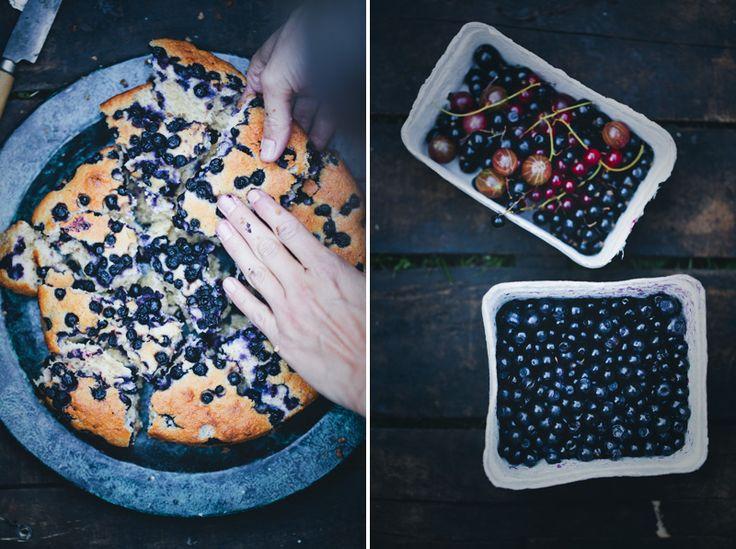 Donna hay blueberry yogurt cake
