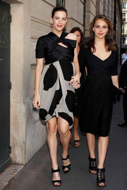 Liv Tyler and Chelsea Tallarico #steventyler #daughters