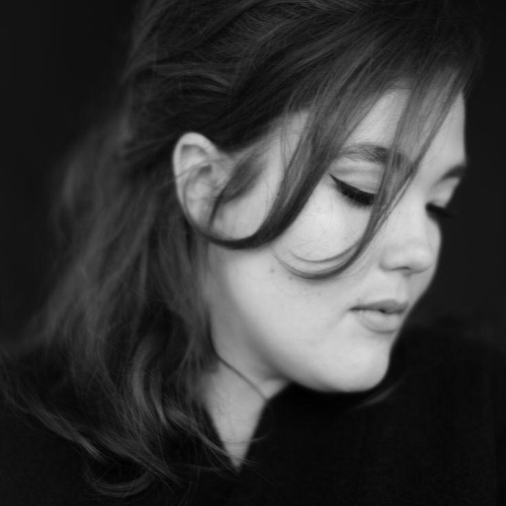 Anne Wrap Coat Black/Grey Photo: Nanna Hänninen Make up&Hair: Satu Arvo Model: Ninja Sarasalo