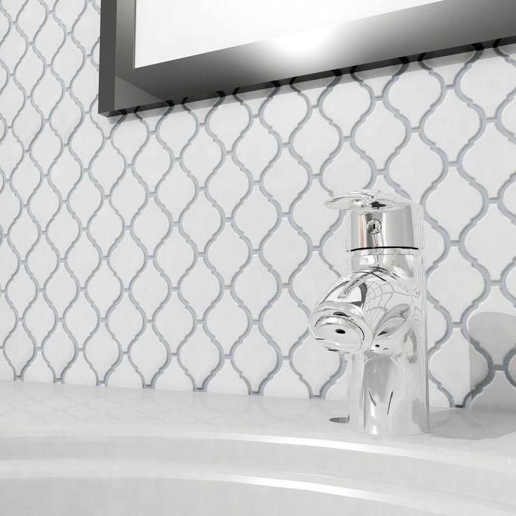 Arabesque Tiles Kitchen Wall: 46 Best Shower Ideas Images On Pinterest