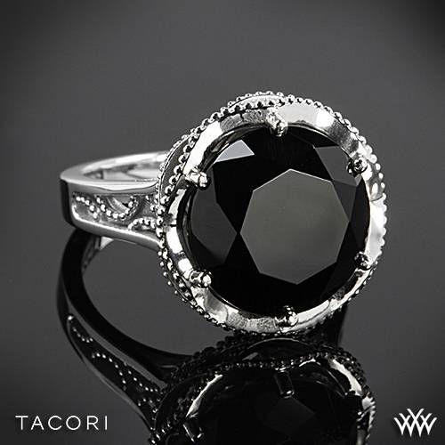 Tacori Black Lightning Black Onyx Ring