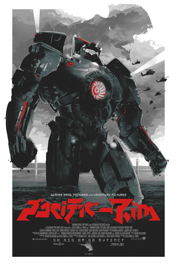 Oh my word, the movie Pacific Rim has the feel of Aliens, the visuals of Godzilla & lucky me, the lovely actress Rinko Kikuchi (You remember her from Babel?) What a 2.5 hr thrill ride it was.