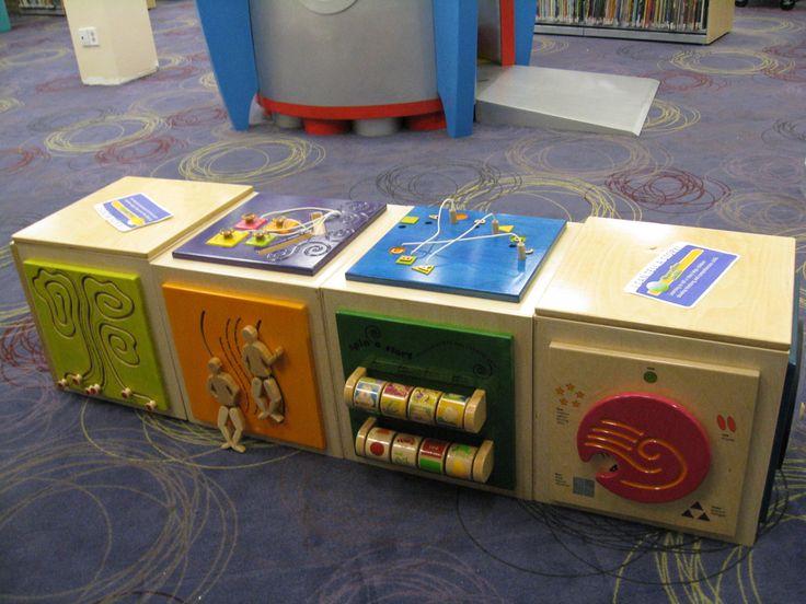 S Walter Stewart Branch children's department - KidsStop is an interactive early literacy centre.
