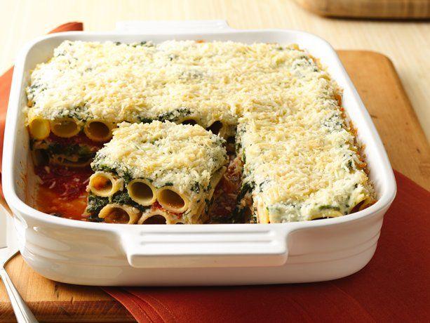 Layered Rigatoni Bake | Pasta Yummies | Pinterest | Rigatoni