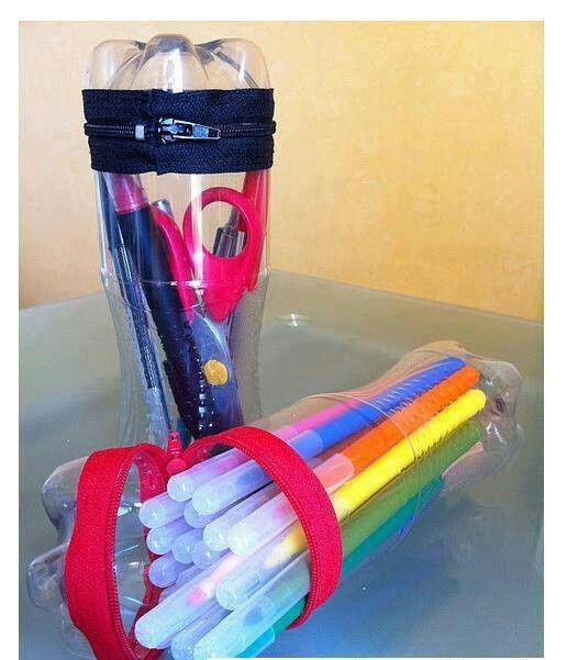 Una buena idea para este regreso a clases, innovador y reciclado