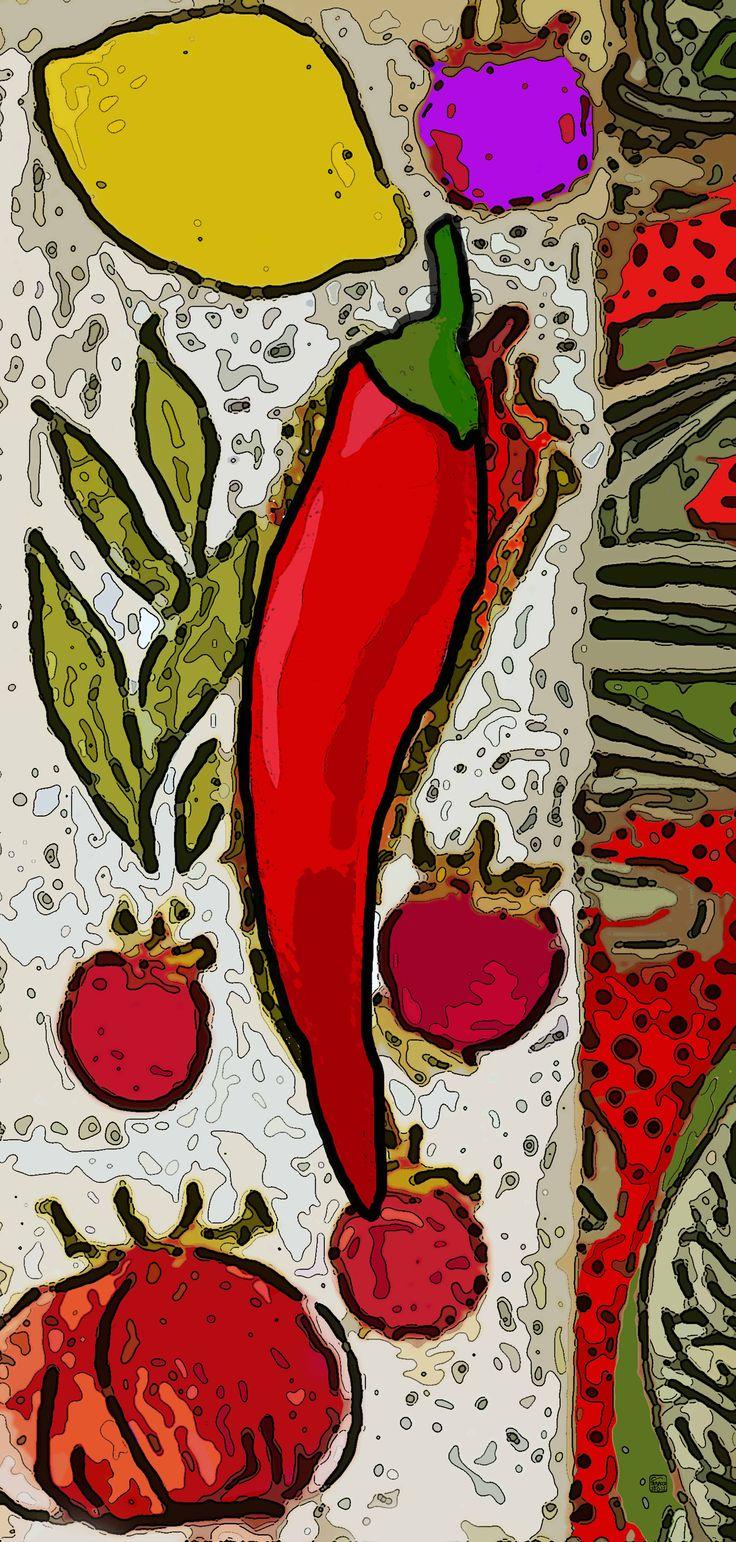 """Cucina""""il menu Di Benedetta""""/Digital ART/GiuseppeTabacco"""
